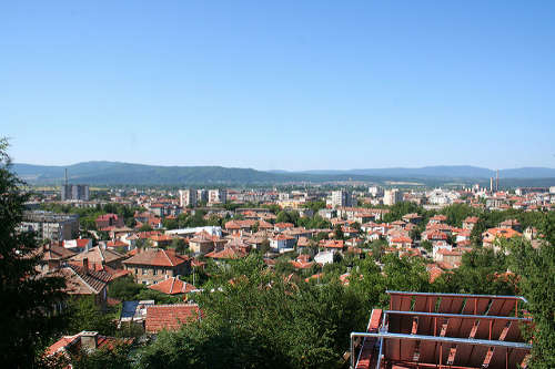 View of Kazanlak