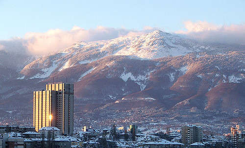Vitosha in the winter